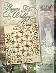 Quilt Kit, Pattern or Laser Cut Stitch n Peel for Applique for Flowers for My Wedding Ring by Judy Niemeyer / Quiltworx