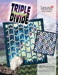 Quilt Kit  or pattern for Triple Divide by Judy Niemeyer / Quiltworx