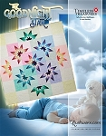 Goodnight Star  Paper Piecing Pattern by Quiltworx
