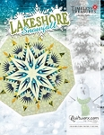 Lakeshore Snowfall  Paper Piecing Pattern by Quiltworx