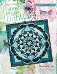 Quilt Kit for Dinner Plate Dahlia Technique of the Month Pattern ***Purchased and shipped over 6 months***