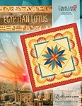 Quilt Kit or pattern for Egyptian Lotus by Quiltworx **Custom colorways available**