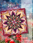 Quilt Kit for Crimson Poppy by Quiltworx in Kaffe Fassett **PRE-ORDER Shipping November 2020**