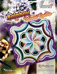 Rainbow Hosta Quilt Kit **cover replica **  or Pattern  Queen 100x100