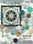 Quilt Kit for Kentucky Spirits by Judy Niemeyer / Quiltworx  in The Tonga Collection