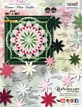 Quilt Kit for Dinner Plate Dahlia by Judy Niemeyer / Quiltworx  Wall Size 80x80 ***cover color replica or custom colorway***