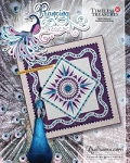 Quilt Kit or pattern for Prancing Peacock by Quiltworx **Custom colorways available**