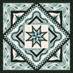 Quilt Kit or Pattern for Wintergreen by Judy Niemeyer / Quiltworx  Wall 65x65 or Queen size 99x99 *Cover replica or custom colorway*