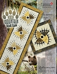 Quilt Kit or Pattern  for Rocky Mountain Bear Claw Table Runner & Pillows by Judy Niemeyer / Quiltworx *Custom Colorway or cover replica*