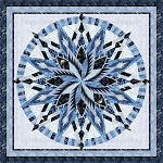 Quilt Kit or Pattern for Silver Shores by Judy Niemeyer / Quiltworx   in Blue Moon fabric collection