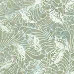 Timeless Treasures Tonga Batik from the Titanium collection by Judy & Judel Niemeyer - B4390 Sage