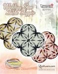 Quilt Kit  or pattern for Wedding Star Table Topper  custom designed for you in Quiltster