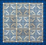 Quilt Kit for Chinese Lattice by Judy Niemeyer / Quiltworx in your favorite colors using Quiltster