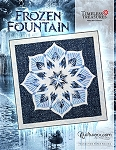 Frozen Fountain Paper Piecing Pattern by Quiltworx