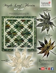 Maple Leaf Flurries pattern or Quilt Kit by Quiltworx / Judy Niemeyer ***Custom Colorway Available***