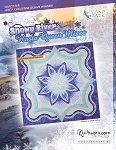 Snowy River Hosta Paper Piecing Pattern
