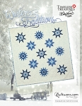 Winter Traditions paper piecing pattern by Quiltworx