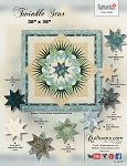 Twinkle Star paper piecing pattern by Quiltworx