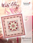 Water Lily paper piecing pattern by Quiltworx